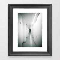 corridor... Framed Art Print