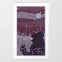 Every City Has Its Creature - New York Art Print
