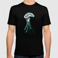 Man O' War Mens Fitted Tee Black SMALL