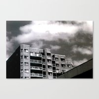 The Real Estate Canvas Print