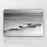 waterfalls on the rocks. M Laptop & iPad Skin