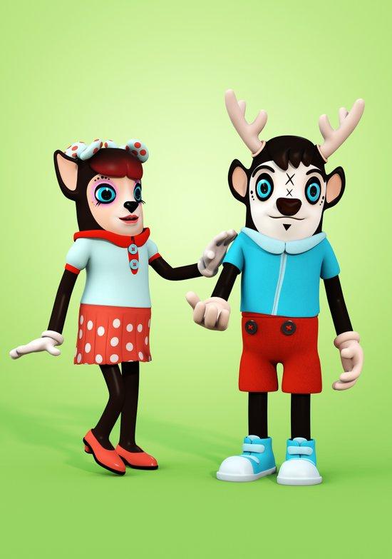 Ben and Mary my Deer! Art Print