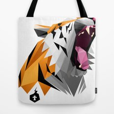 TML polygon tiger ROAR!!! Tote Bag