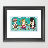 Idol Worship Framed Art Print