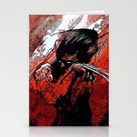 Berserker Wolvie - 2008 Stationery Cards
