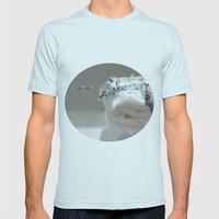 Smell of lavender Mens Fitted Tee Light Blue SMALL