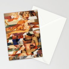 Glitch Pin-Up Redux: Natalie Stationery Cards