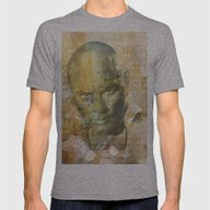 Yul Mens Fitted Tee Athletic Grey SMALL