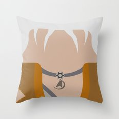 Khan Noonien Singh - The… Throw Pillow