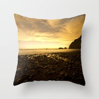 Island Star Gazing  Throw Pillow