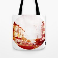 Near The South End of Folsom, San Francisco Tote Bag