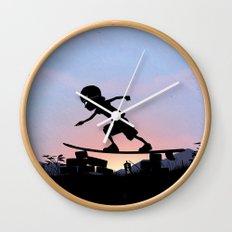 Silver Surfer Kid Wall Clock