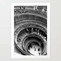 All The Way Down Art Print