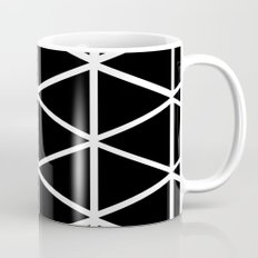 BLACK & WHITE TRIANGLES 2 Mug