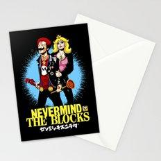 Never Mind the Blocks Stationery Cards
