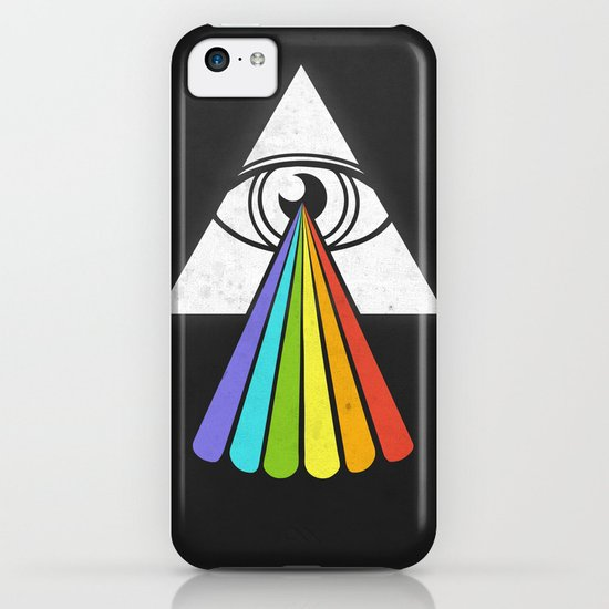The All-Seeing Dark Side of the Moon iPhone & iPod Case