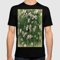 Daisy Carpet. Mens Fitted Tee Black SMALL
