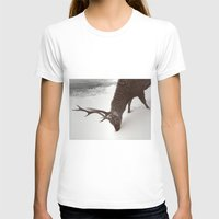 Tender Creature  Womens Fitted Tee White SMALL