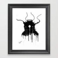 Bioshock Evolve Suit Design FanArt Framed Art Print