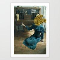 Inflorescencias 1 Art Print