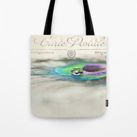 Postcard From The Edge Tote Bag