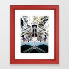 Horror Of History 3 Framed Art Print