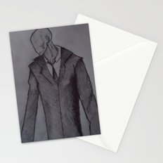 Man without a face. Stationery Cards
