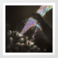 The Visionary Art Print