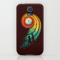 Galaxy S5 Cases featuring Journey of a thousand miles by Budi Kwan