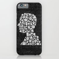 iPhone & iPod Case featuring Untitled Silhouette in Reverse. by Nick Nelson