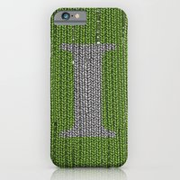 iPhone & iPod Case featuring Winter clothes III. Letter i. by Studio Caravan