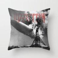 Zeppelin Throw Pillow