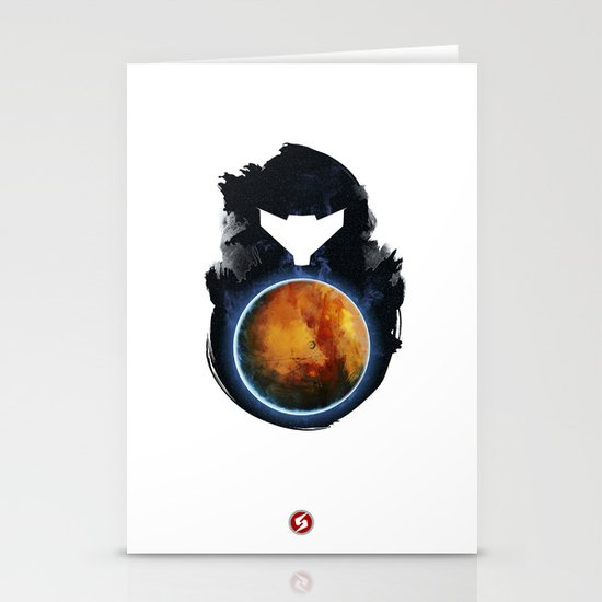Metroid Prime Stationery Card