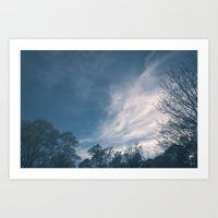 The Way Of The Wind Art Print
