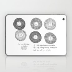 Hipsters Listen To Music Laptop & iPad Skin