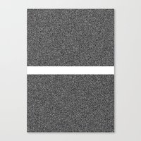Noise Interrupted Canvas Print