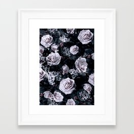 Framed Art Print - Dark Love - RIZA PEKER