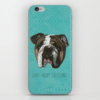 English Bulldog Print iPhone & iPod Skin