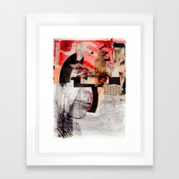 HOMBRE SECRETO Framed Art Print