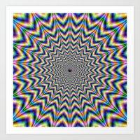 Brain Busting Web Art Print