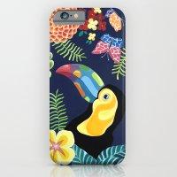 Natures Confetti Toucan iPhone 6 Slim Case