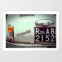 To Rome With Love Art Print