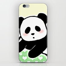 Read panda a story iPhone & iPod Skin