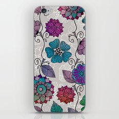Flower Flow #2 iPhone & iPod Skin