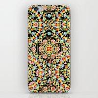 Flower Crown Bohemian iPhone & iPod Skin