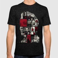 Bill Murray Mens Fitted Tee Tri-Black SMALL