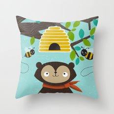 Honey! Throw Pillow