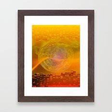 Atlante 15-06-16 / LIGHT Framed Art Print