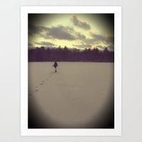 Cold Days Art Print