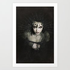 Queen of Shadows Art Print
